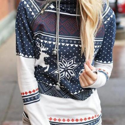Christmas Print Design Long Sleeved..