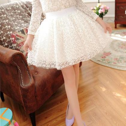 High Quality White Skirts, Women Sk..