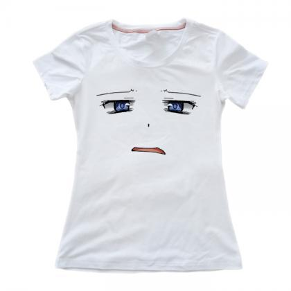 Sexy girl big chest T-shirt sexy ti..