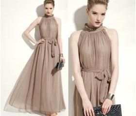 Chic Khaki Colored C..