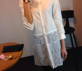 Long Sleeved Dress L..