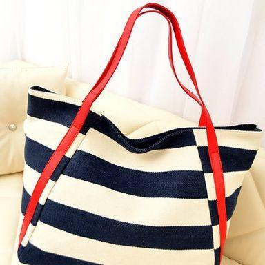 Stylish Nautical Inspired Stripes Bag