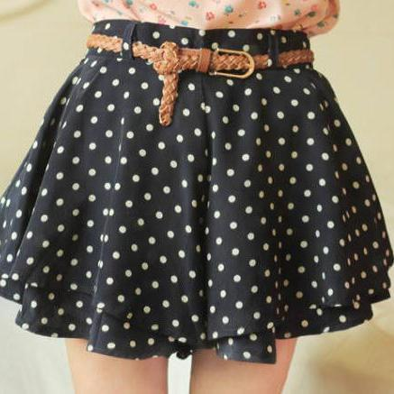 DRESS SHORTS CULOTTES
