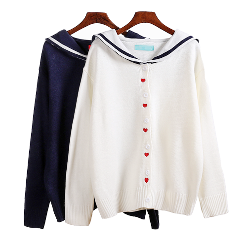 Heart Sailor Cardigan